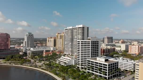 Panoramatický letecký pohled na Palm Beach Panorama, Florida, Usa