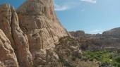 Panorama aereo di paesaggio parco nazionale di Zion, Utah