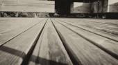 Fotografie Wooden Pier detail, black and white