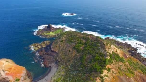 úžasné pláže a moře pobřeží, Cape Schanck, Austrálie