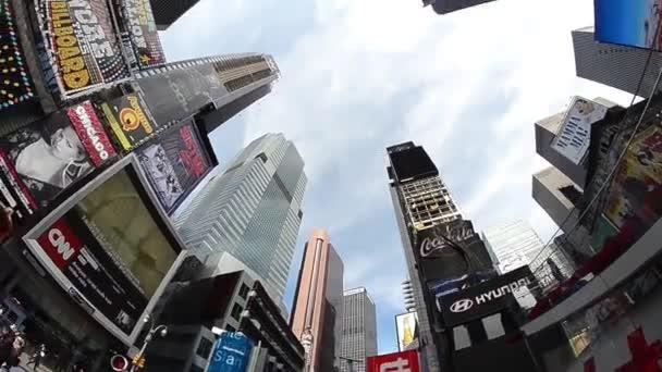 New York City - 15 červen 2013: mrakodrapy Times Square