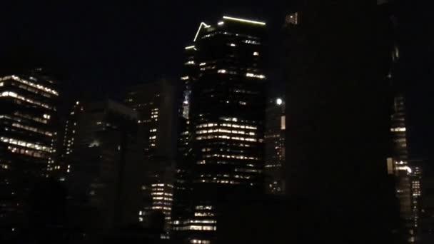 incredibile skyline di New York al crepuscolo, Stati Uniti dAmerica