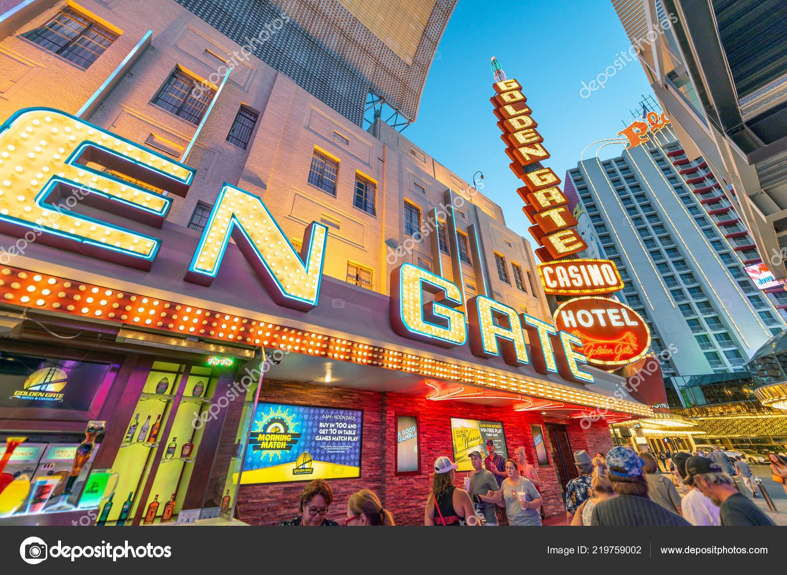 Las Vegas June 2018 Downtown Las Vegas Lights Nightlife