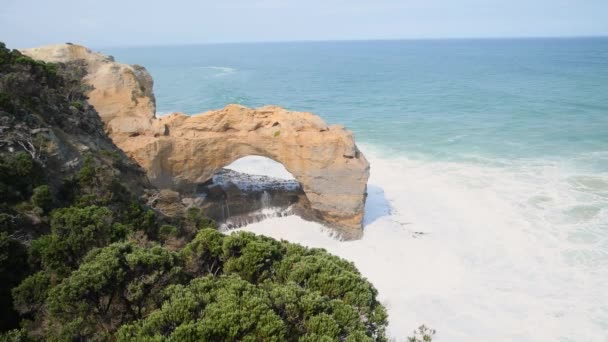 Archway on the Great Ocean Road in Victoria, south-eastern coast of Australia