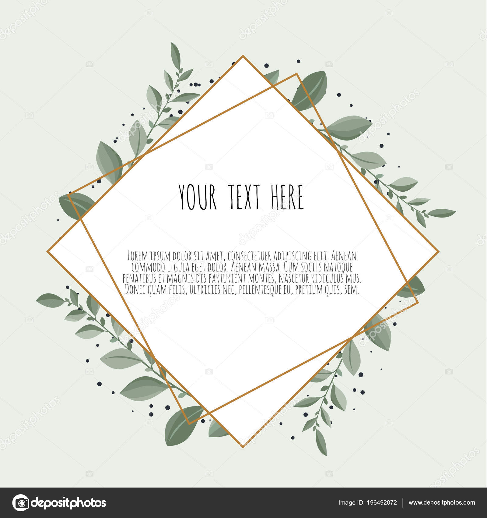 vector floral design card greeting postcard wedding invite