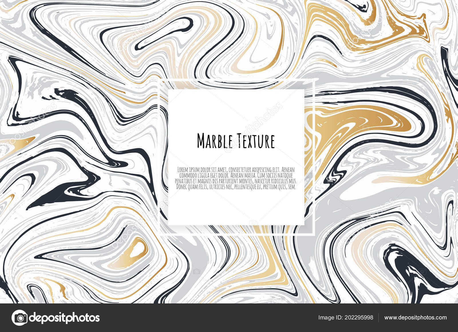 gold black white marble template trendy pattern graphic poster