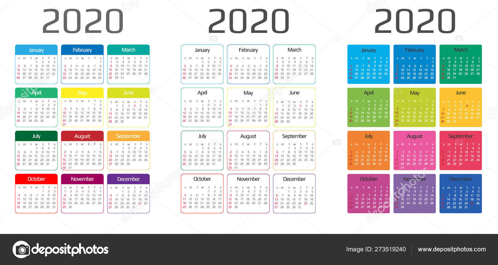Events Calendar 2020.Calendar 2020 Template 12 Months Include Holiday Event