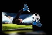 Fotografie Realismus sportovních snímků vysílání v televizi
