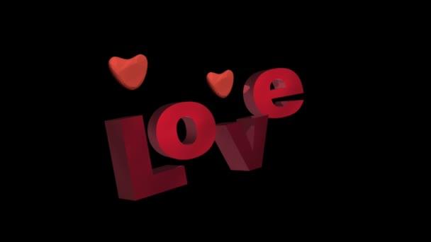 Romantikus legenda és mozgó szívek fekete.