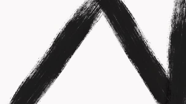 Absztrakt festékszóró átmenet feltár az alfa-csatorna-átláthatóság.
