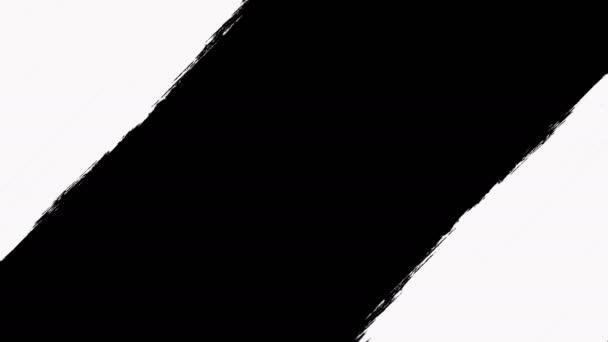 Absztrakt festékszóró átmenetek feltár a luma Matte-átláthatóság.