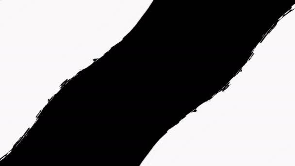 Přechod štětcem malby odhalen s transparentností - Luma matný.