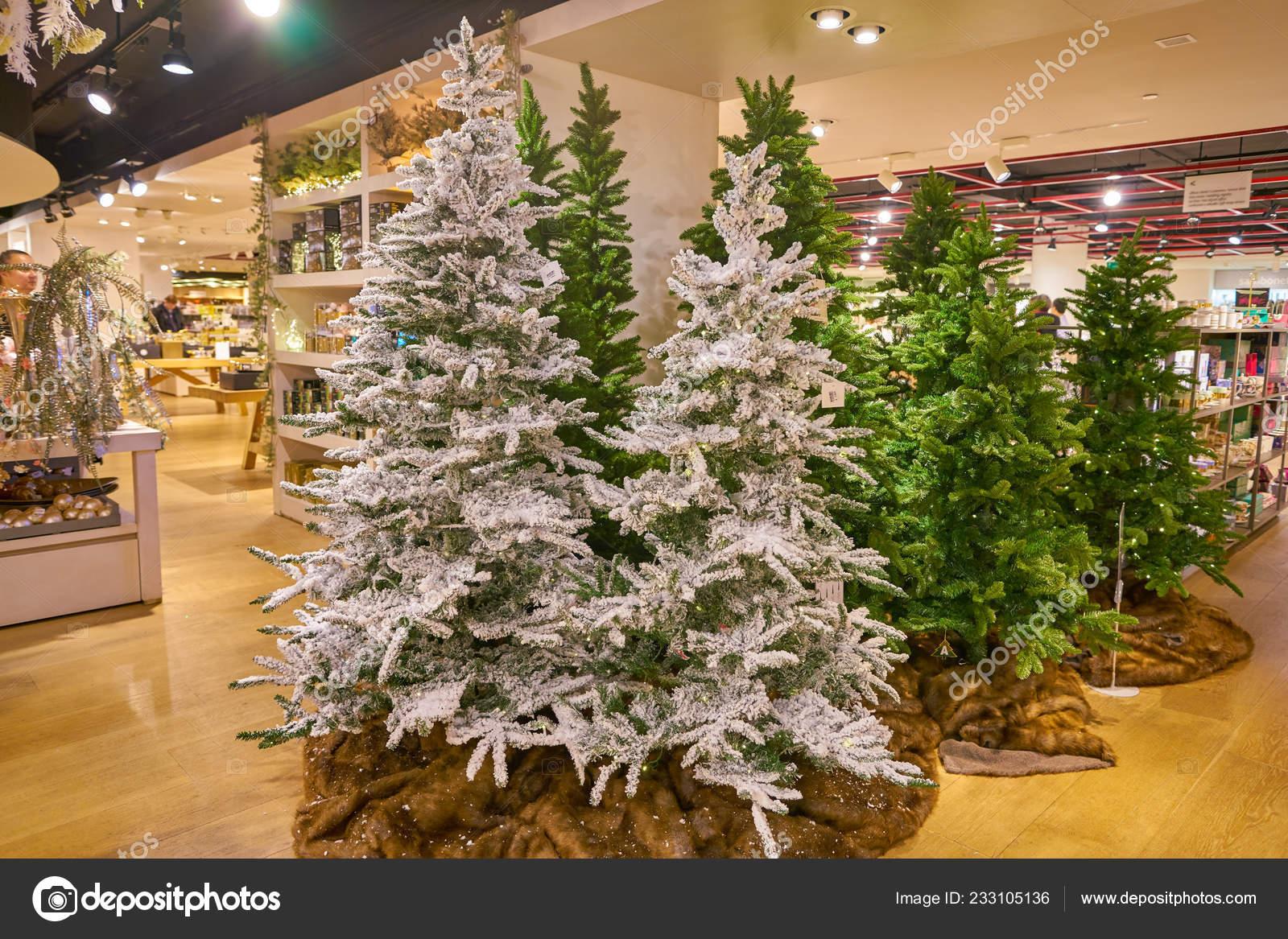 Milan Italy Circa November 2017 Christmas Decorations