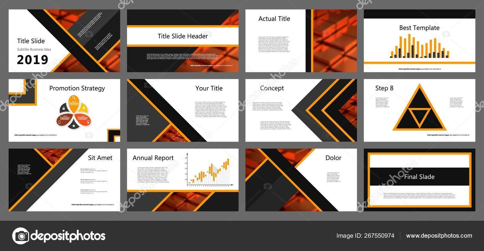 Vector Illustration Powerpoint Presentation Templates Set