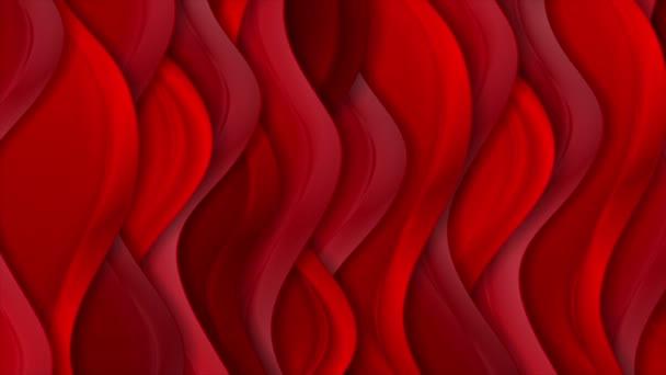 Világos piros absztrakt selyem hullámos minta OVA epizódnak