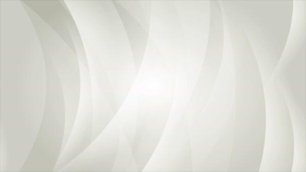 abstrakte elegante graue Wellen Videoanimation