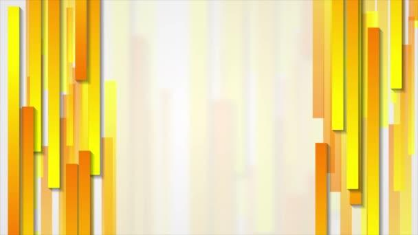 Narancs, geometrikus, absztrakt tech motion design