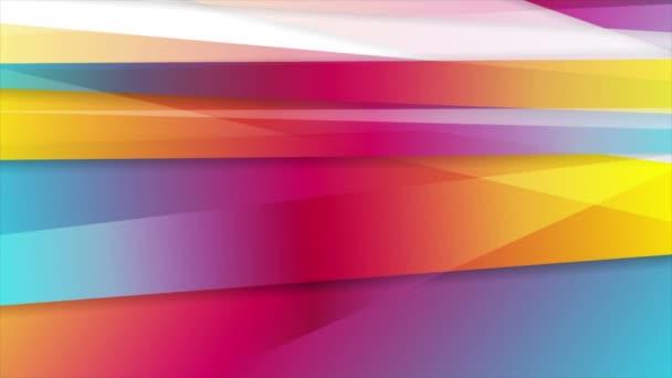 abstrakte lebendige Streifen Corporate Videoanimation
