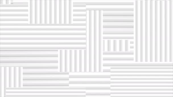 graue Tech-gestreifte abstrakte geometrische Videoanimation