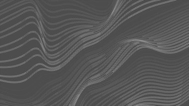 Grey dotted lines refraction waves abstract background stock vector
