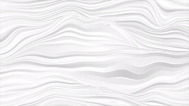 Fehér szürke görbe sima hullámos vonalak elvont mozgás háttér