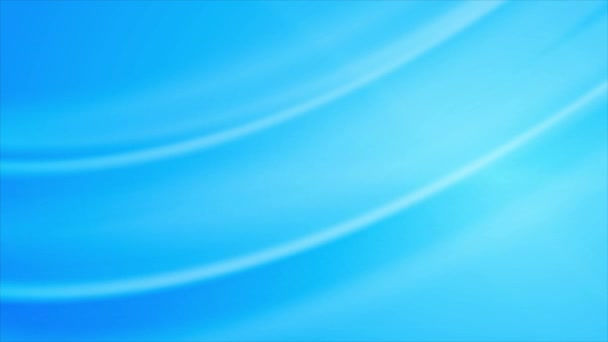 Abstract shiny light blue waves motion design