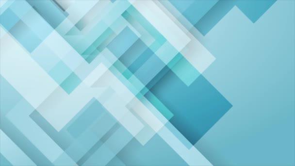 Absztrakt világoskék technológia geometriai mozgás háttér