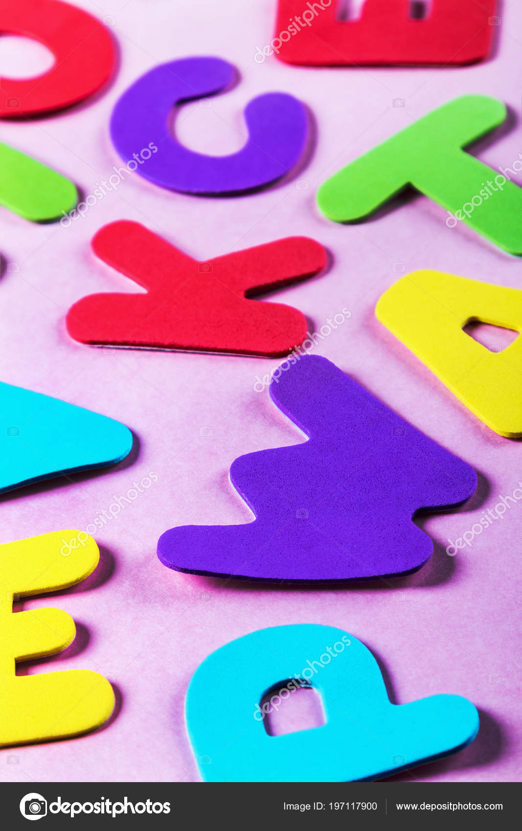 letters of the alphabet in different colors — Stock Photo © doroshin ...