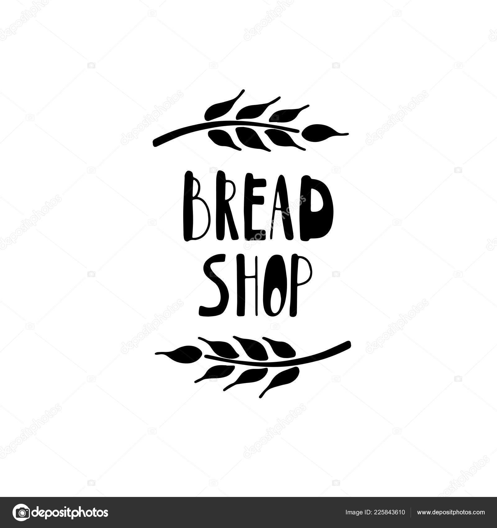 Panadería Postre Tienda Bakehouse Diseño Logotipo Etiqueta