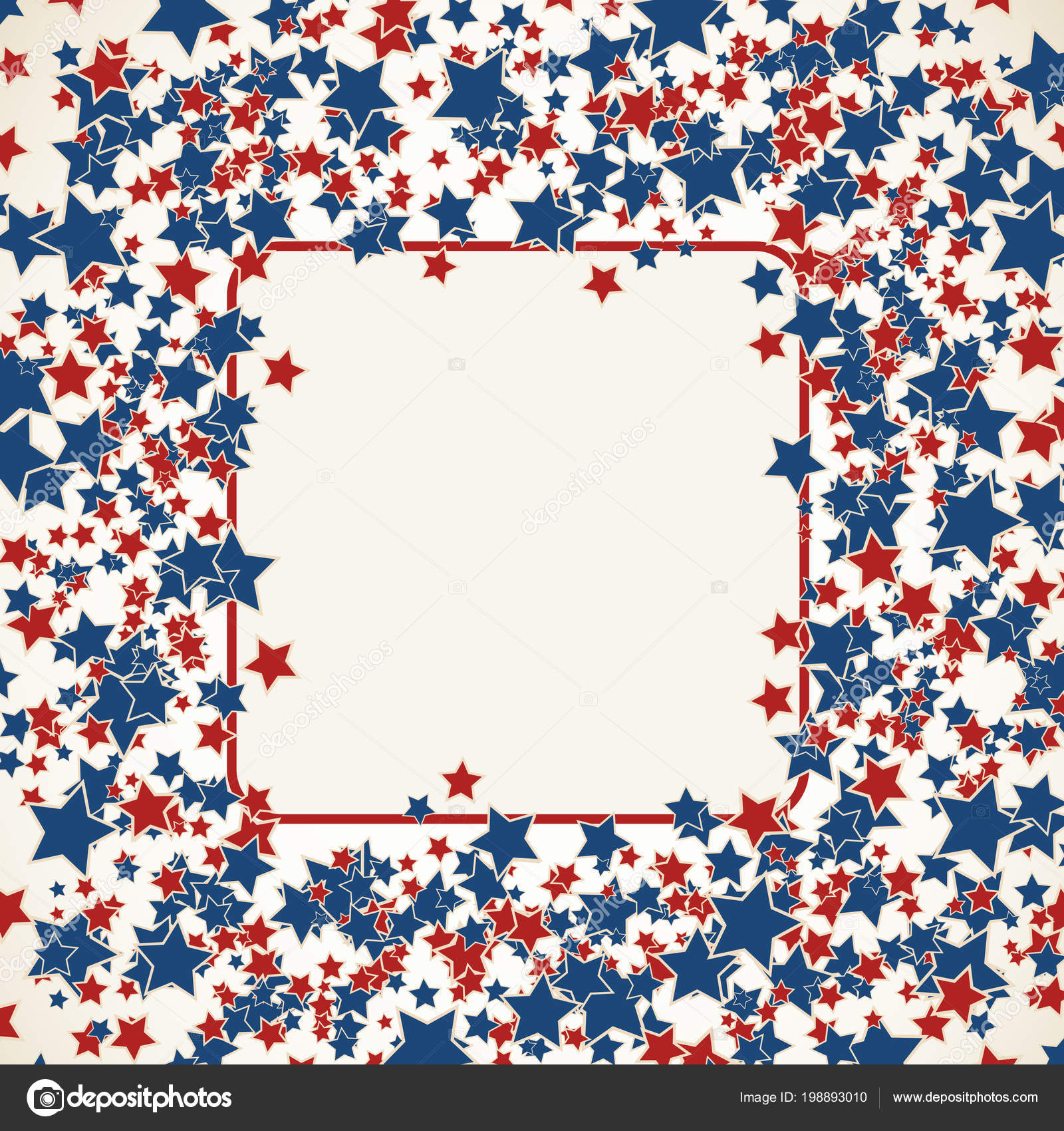 Amerikanische Patriotische Hintergrund Vereinigten Staaten Leeren ...