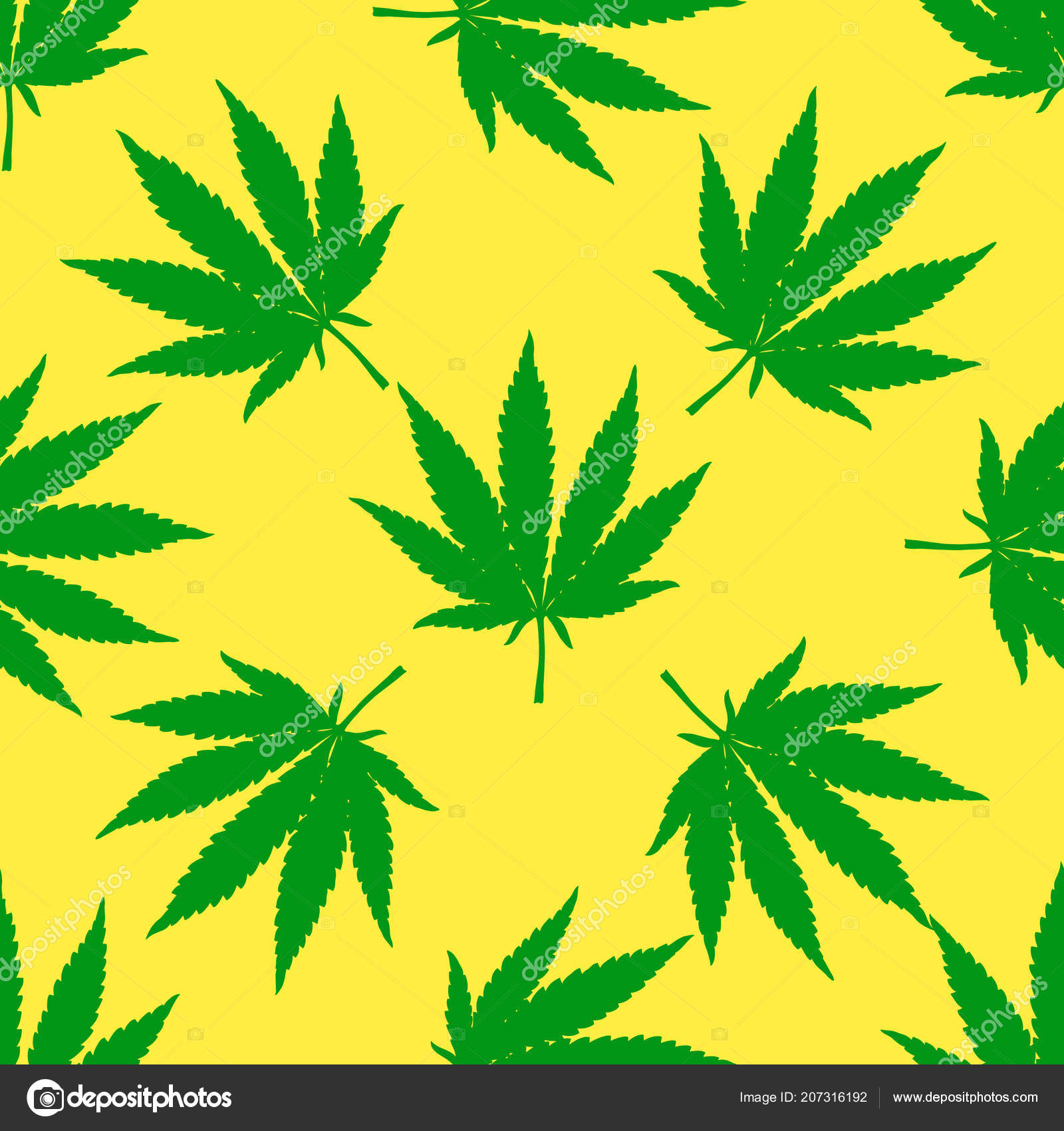 marijuana leaf seamless pattern hand drawn narcotic cannabis background hemp stock vector c de kay 207316192 depositphotos