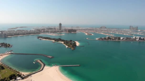 Panorama of the Palm Island Jumeirah