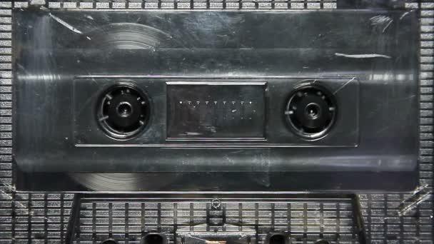 transparentní Vintage audio kazetu v balíčku