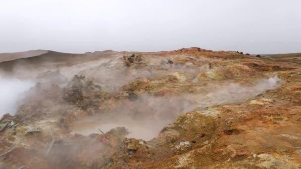 Geothermische Aktivität in Island