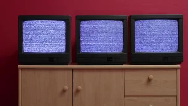 Három régi Tv sets
