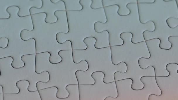 Puzzle pieces fitting together