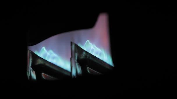 Heizungsanlage Gasflamme