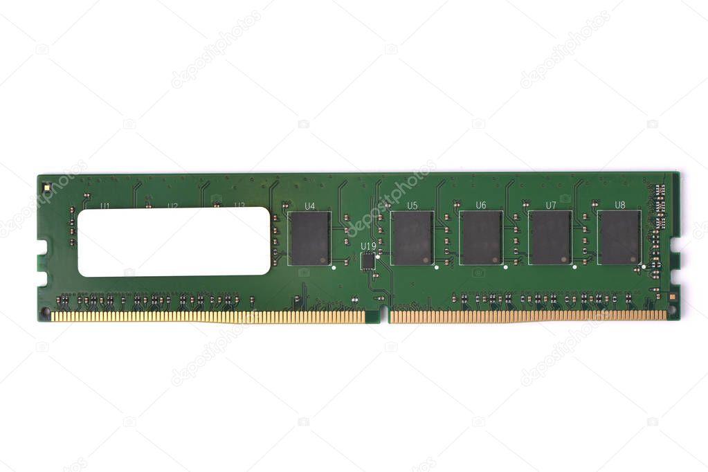 Photo of DDR4 DDR3 DDR2 DDR RAM memory module