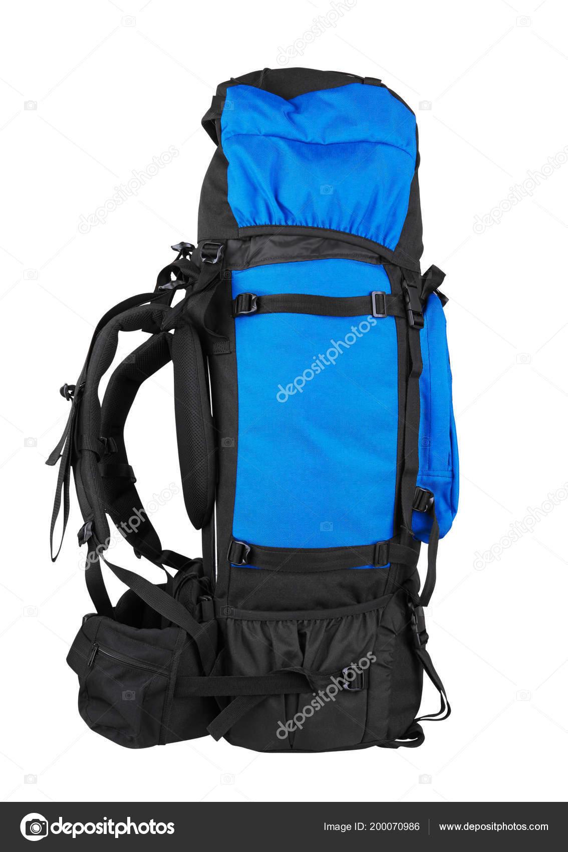 Tourist Backpack Isolated White Background — Stock Photo © krasyuk ... 72fa95558e805