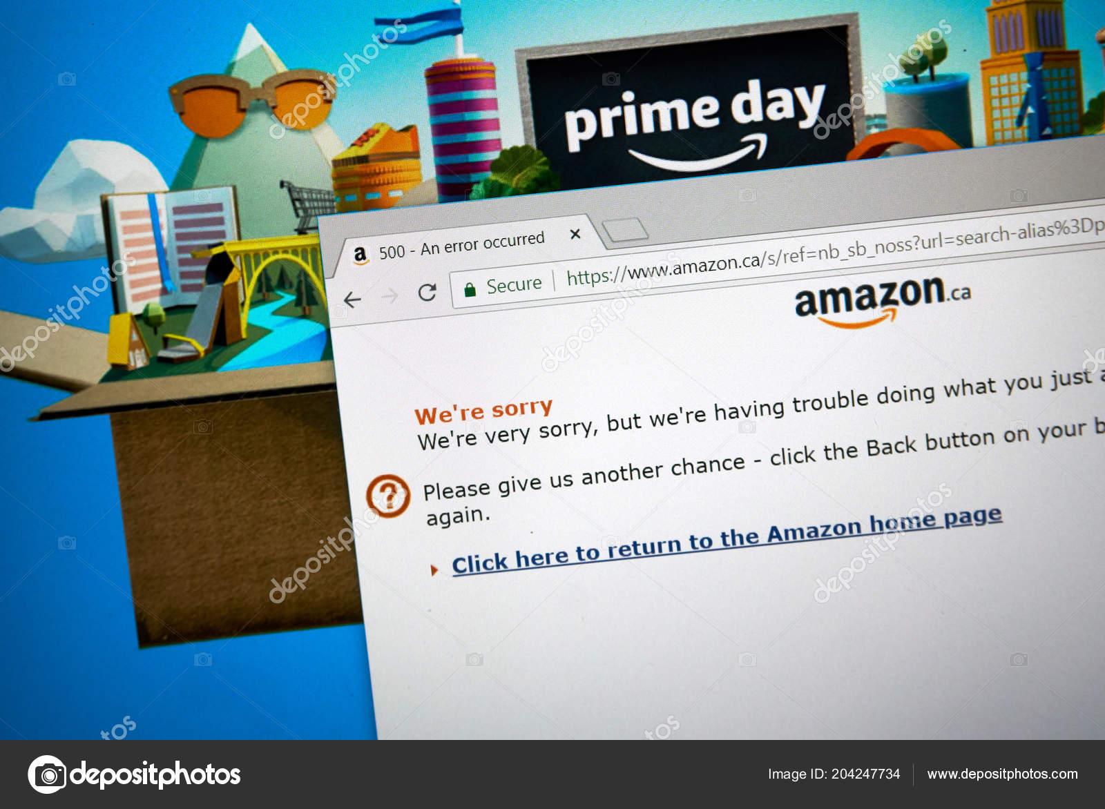 Amazon prime july  canada