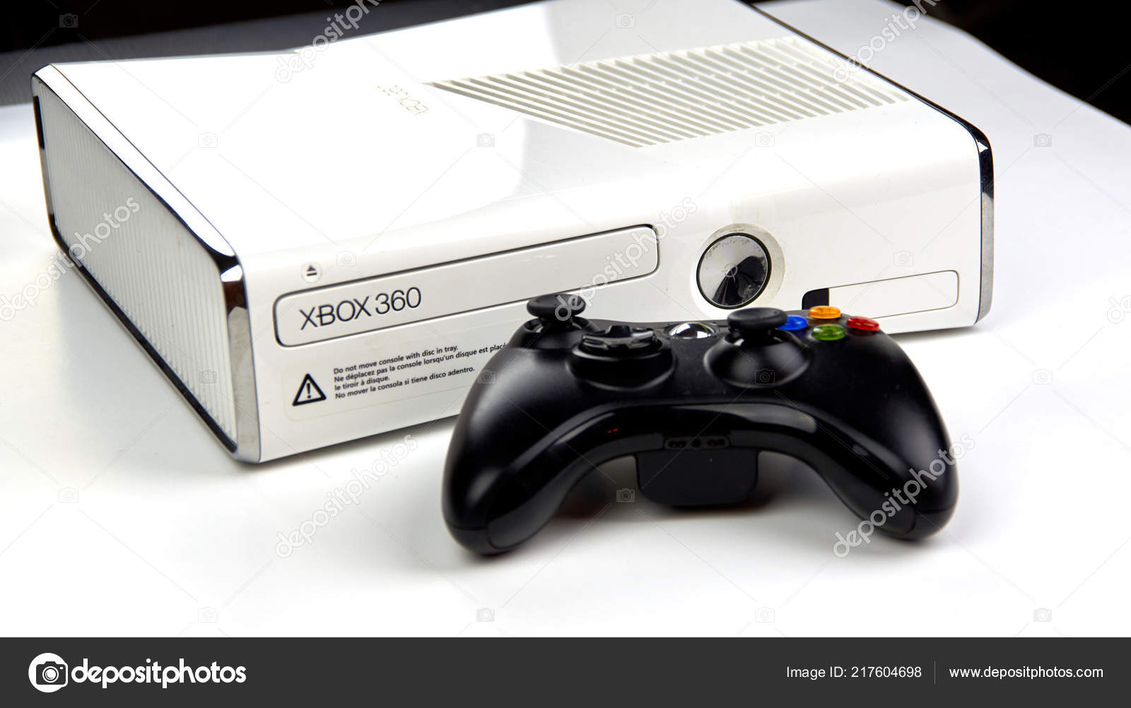 Montreal Canada Septiembre 2018 Consola Videojuegos Xbox 360 Con