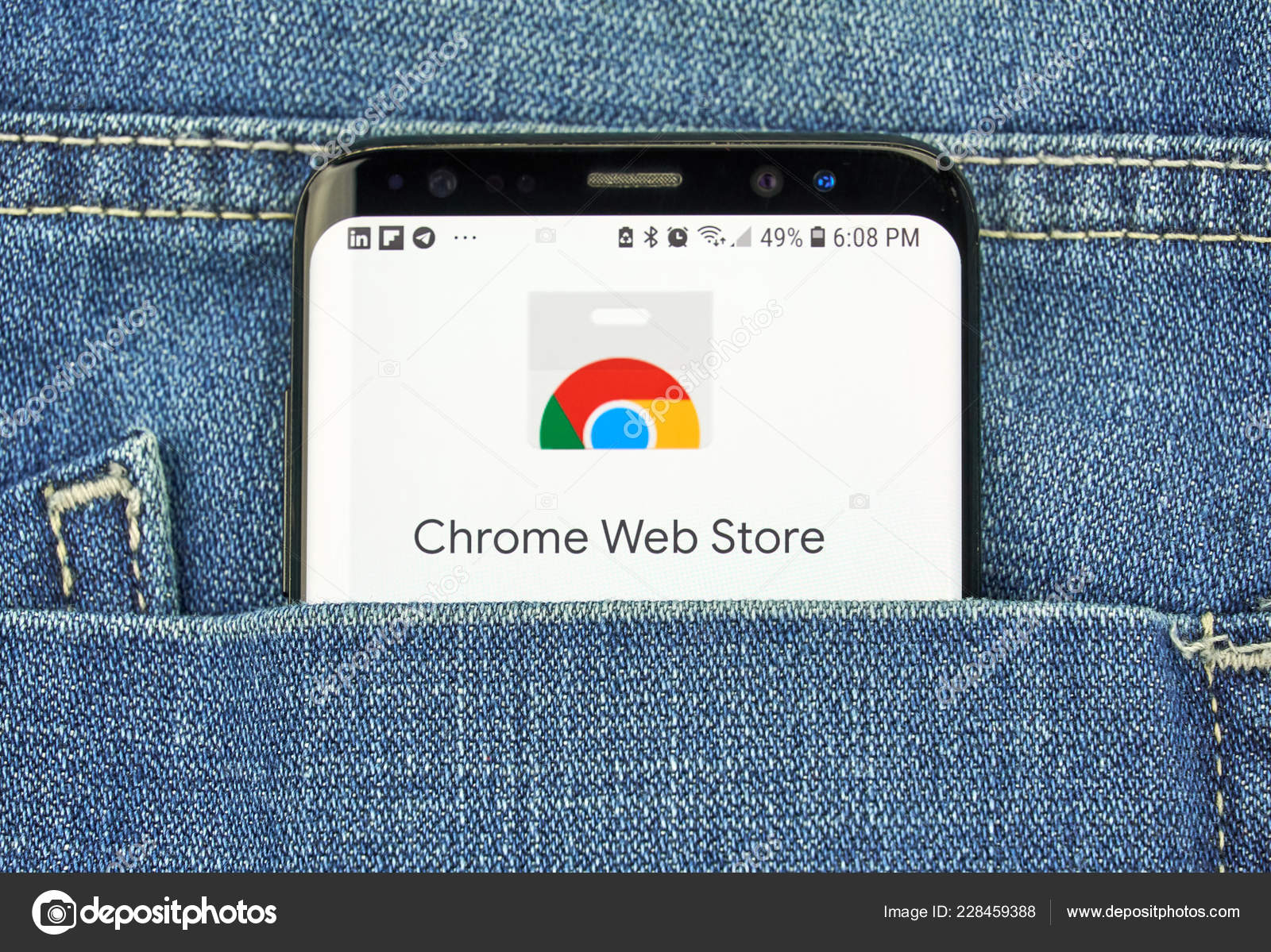 Montreal Canada October 2018 Google Chrome Web Store Logo Screen