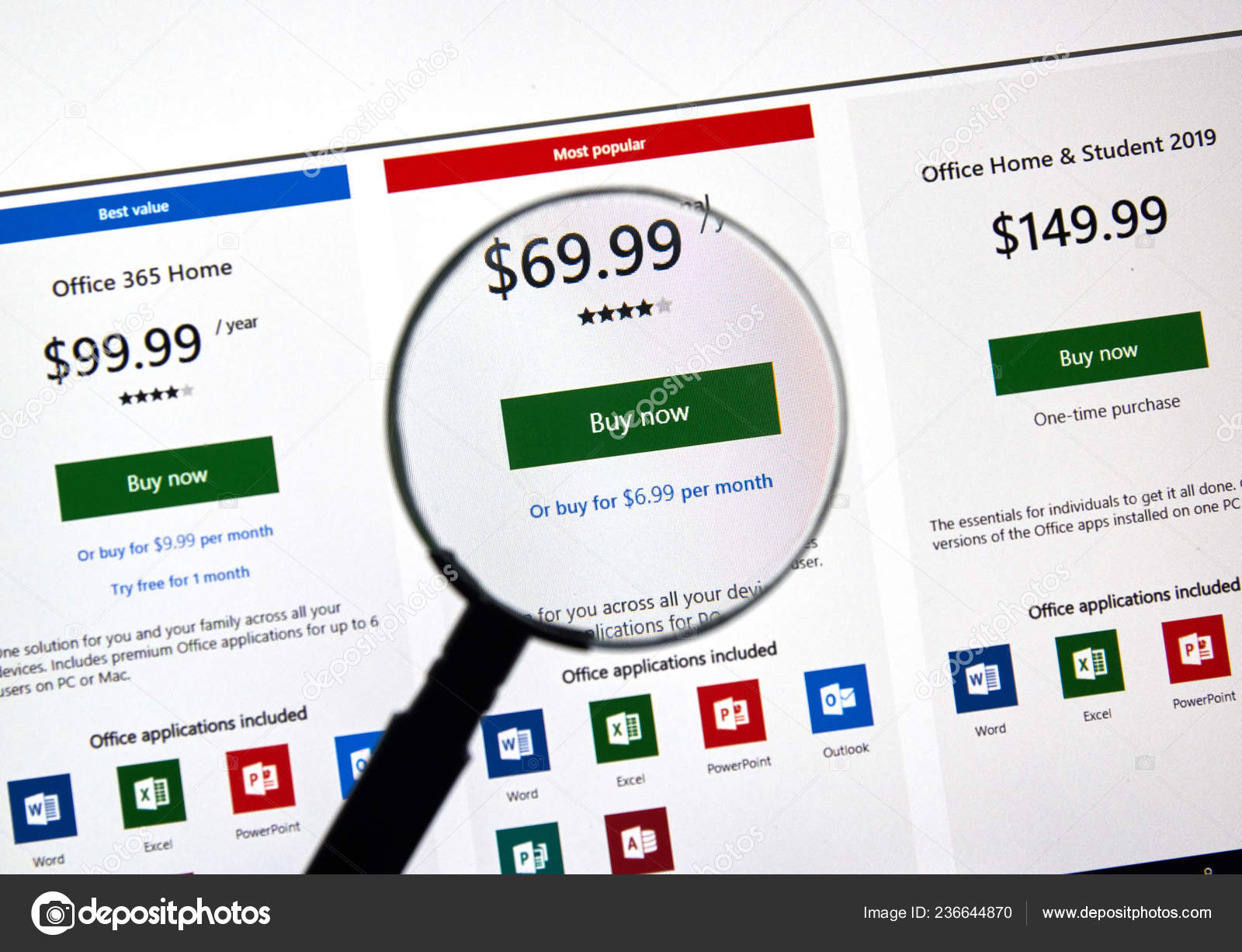 Montreal Canada January 2019 Microsoft Office 365 Subscription Plans