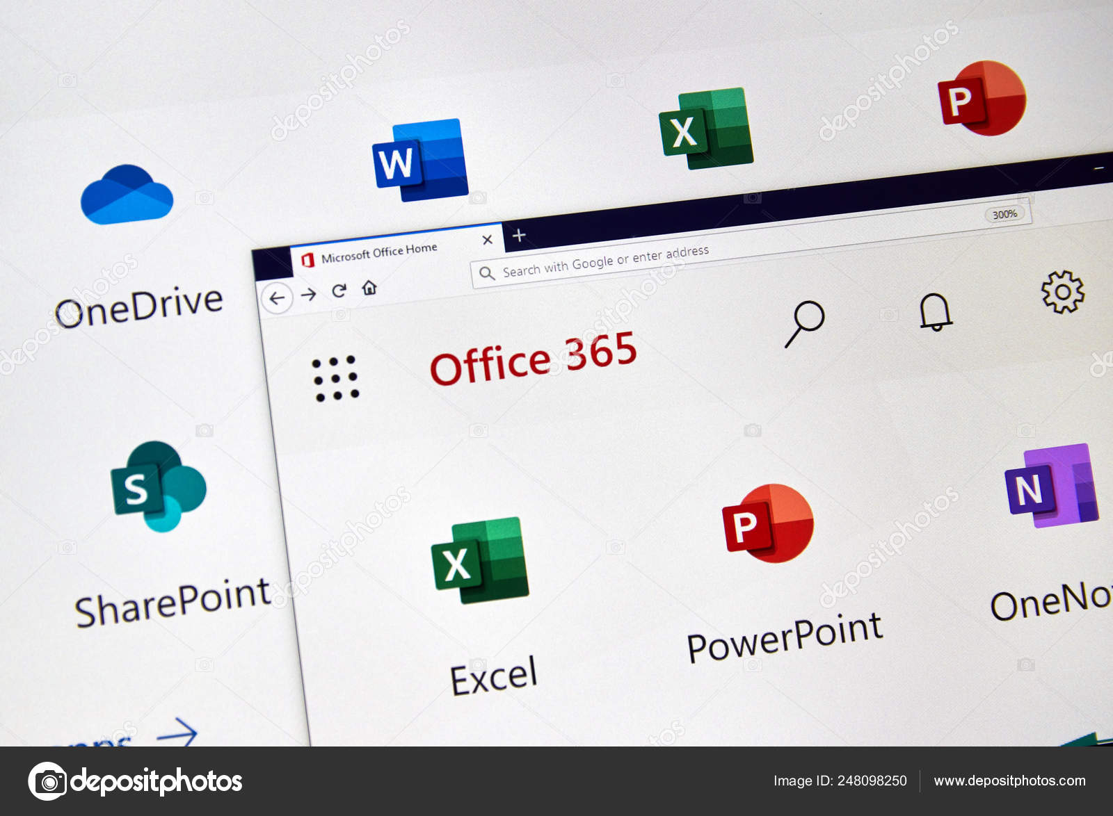 MIcrosoft Office 365 new icons – Stock Editorial Photo © dennizn