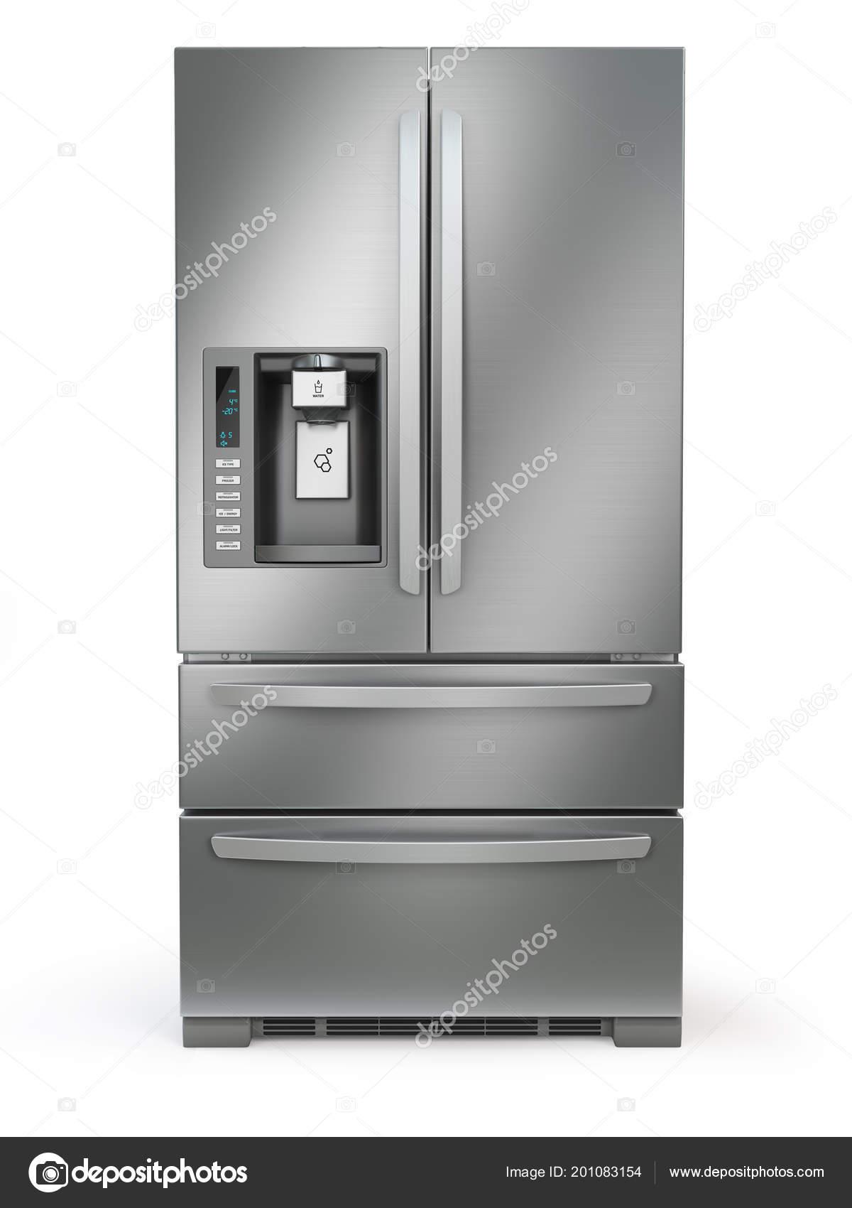 Sehr Kühlschrank Mit Gefrierfach Side Side Edelstahl Stahl Kühlschrank QK41