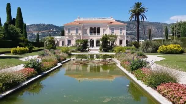 Garten in Villa Ephrussi de Rothschild, Saint-Jean-Cap-Ferrat