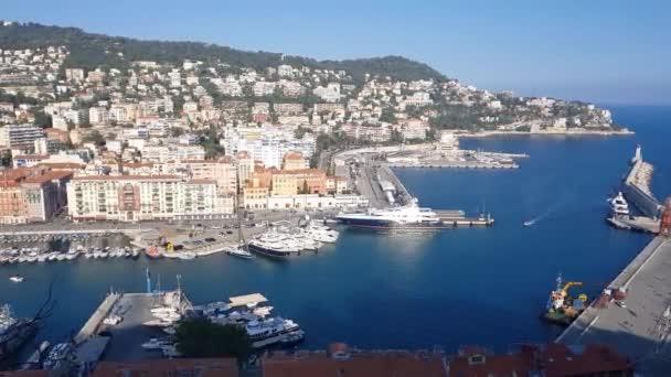il porto di Nizza, Costa Azzurra