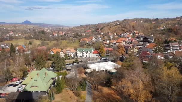 Landscape in Bran, Romania