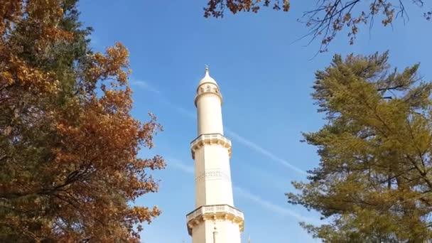 Rozhledna Minaret v zahradě zámku Lednice, Česká republika