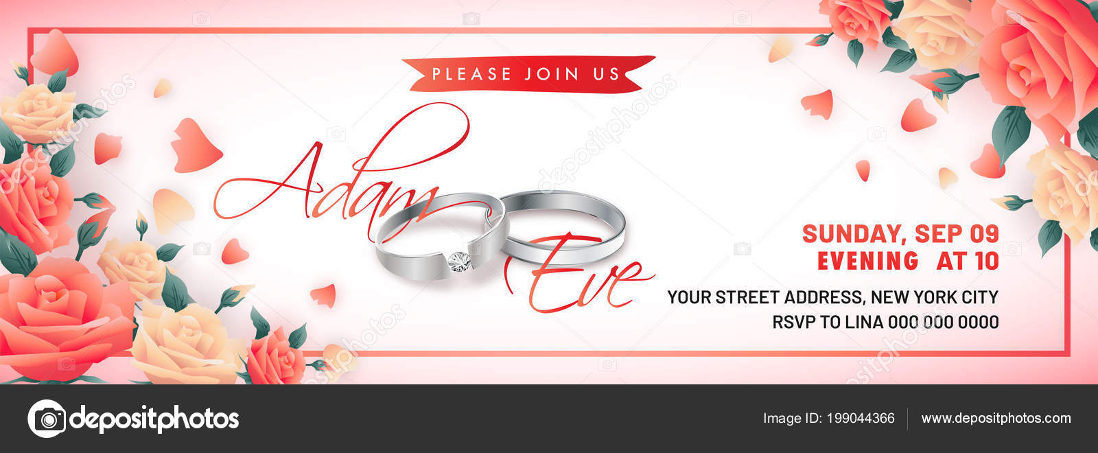 Images Engagement Banner Engagement Banner Design Wedding Rings Beautiful Roses Stock Vector C Alliesinteract 199044366